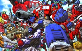 Комиксы - Transformers Wallpapers and Backgrounds ID : 1546