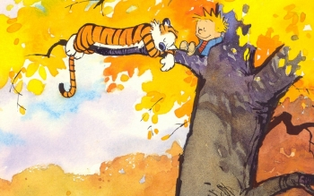 Cartoni - Calvin And Hobbes Wallpapers and Backgrounds ID : 15478