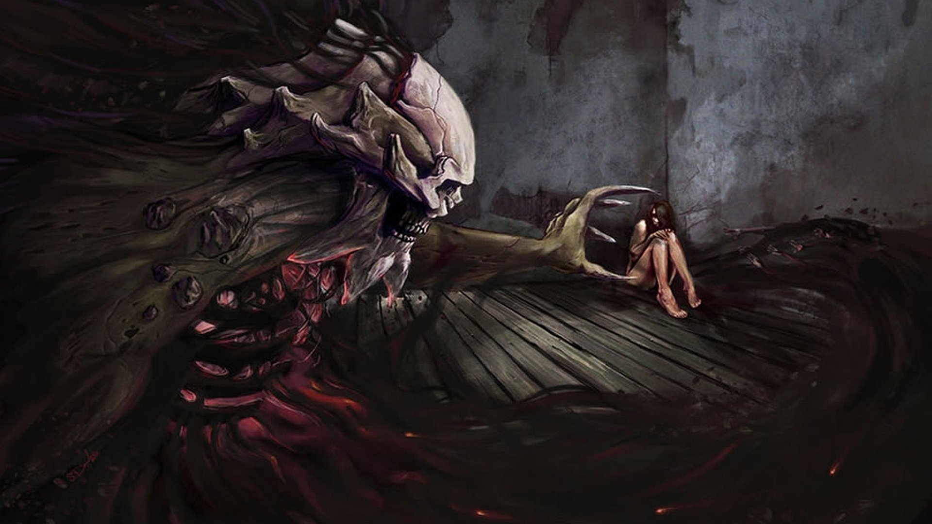 Dark - Creature  Wallpaper