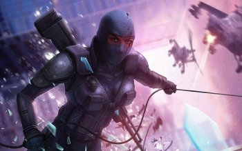 Sci Fi - Women Warrior Wallpapers and Backgrounds ID : 155008