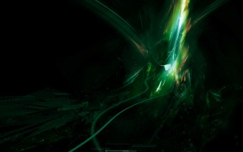 Abstract - Green Wallpapers and Backgrounds ID : 15528