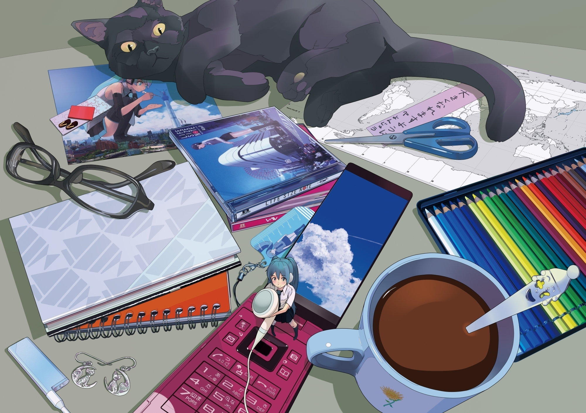 Anime - Vocaloid  - Hatsune Miku Papel de Parede