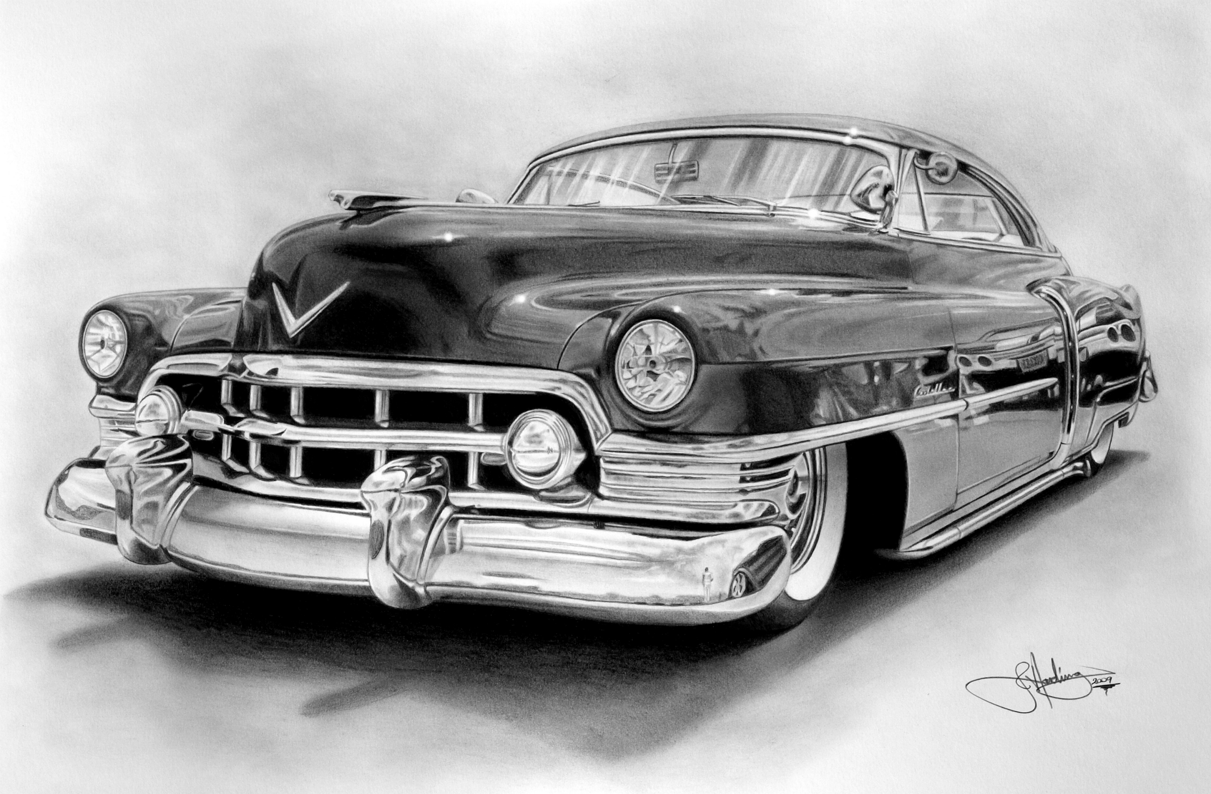 1949 Cadillac Fleetwood Coupe Deville HD Wallpaper