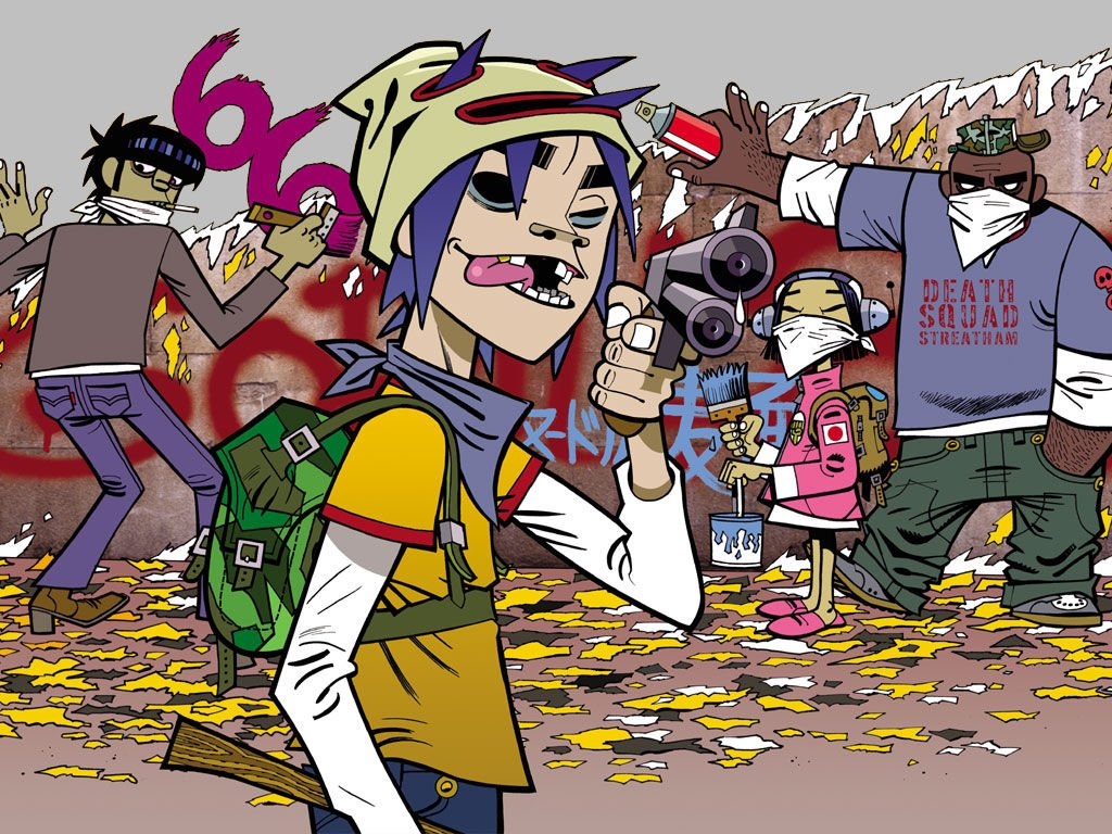 98 Gorillaz Hd Wallpapers Background Images Wallpaper Abyss