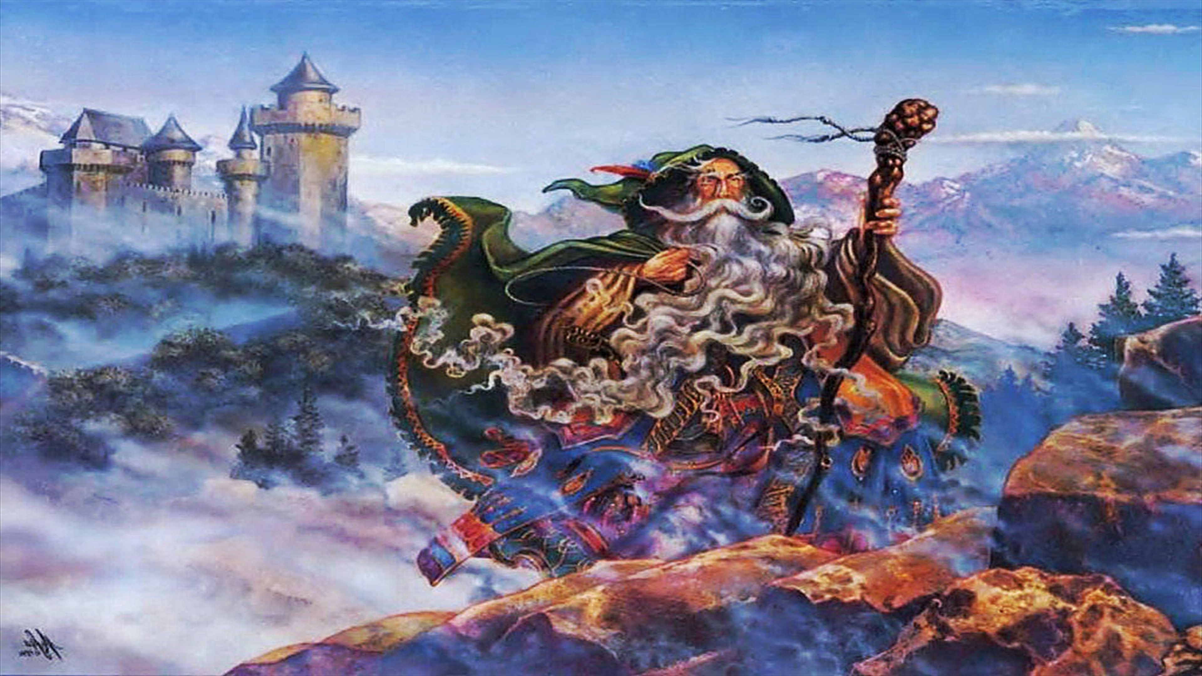 wizard computer wallpapers desktop backgrounds