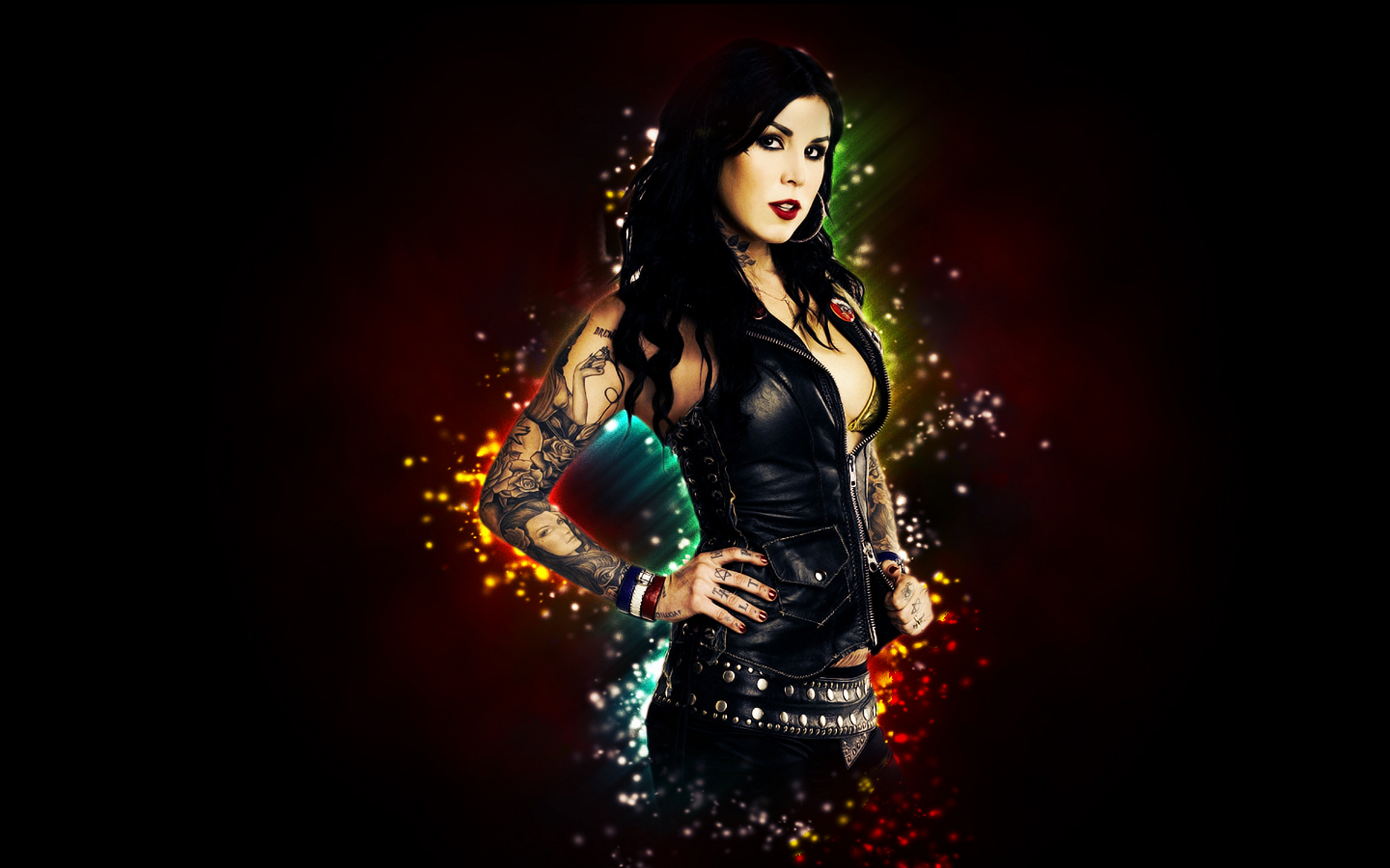 Kat Von D Full Hd Wallpaper And Background Image  1920X1200  Id157924-3991