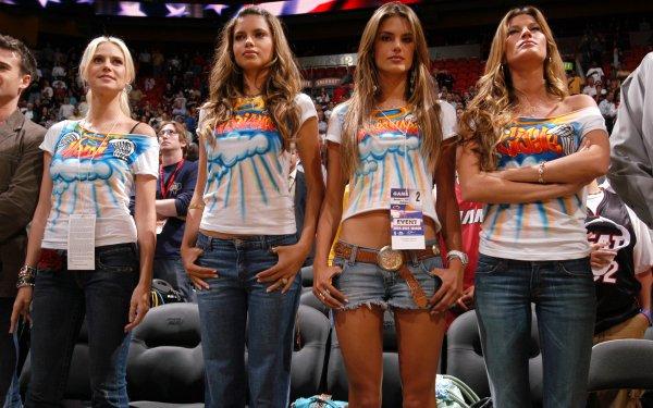 Women Model Models Heidi Klum Adriana Lima Alessandra Ambrosio Gisele Bundchen HD Wallpaper   Background Image