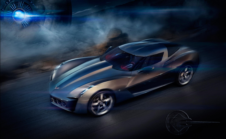 Chevrolet Corvette Stingray Concept HD Wallpaper