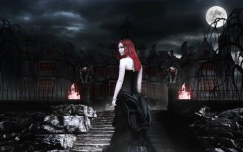 Dark - Vampire Wallpapers and Backgrounds ID : 159106