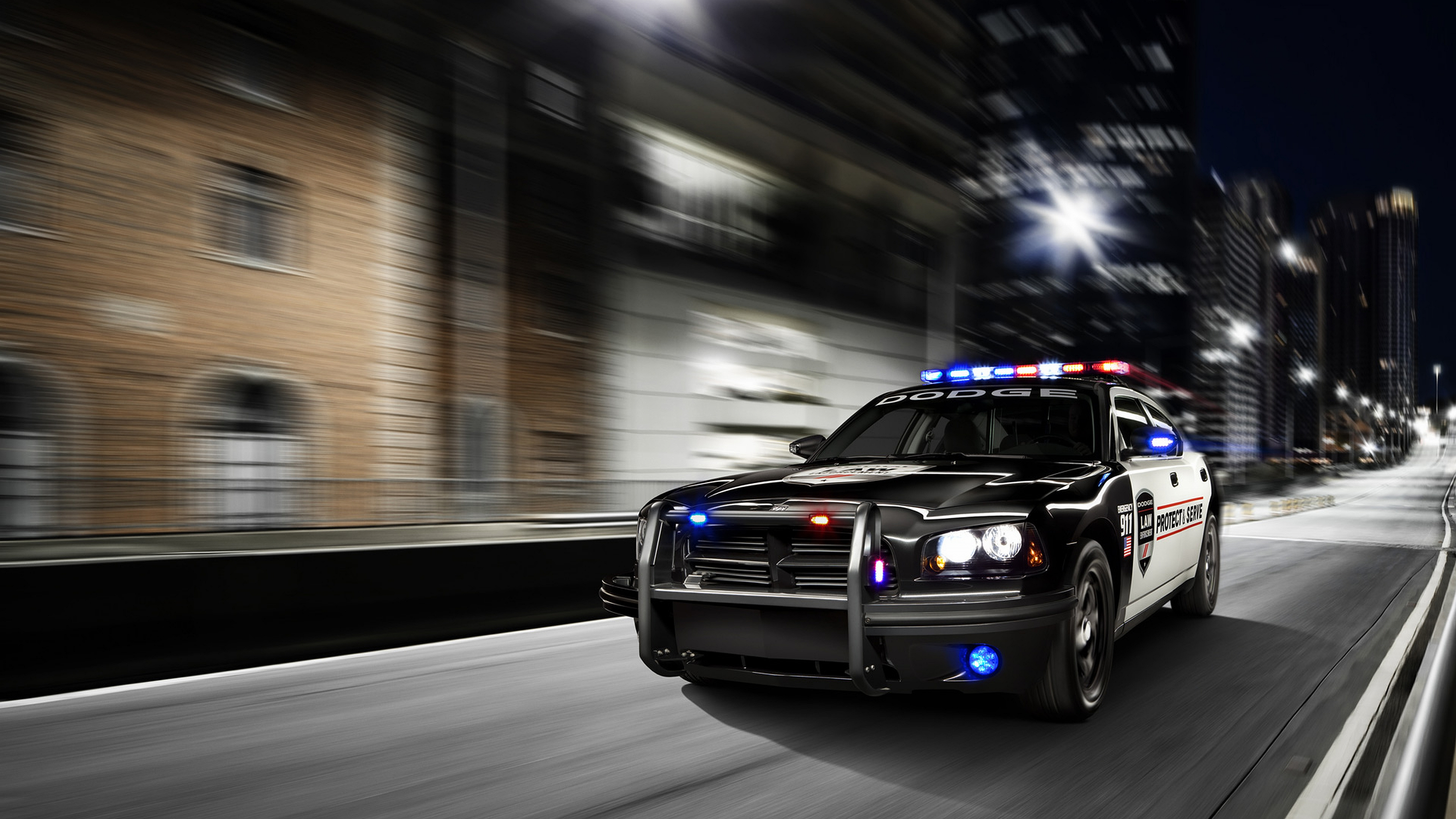 HD Wallpaper | Background Image ID:160234. 3840x2160 Vehicles Police. TorinoGT