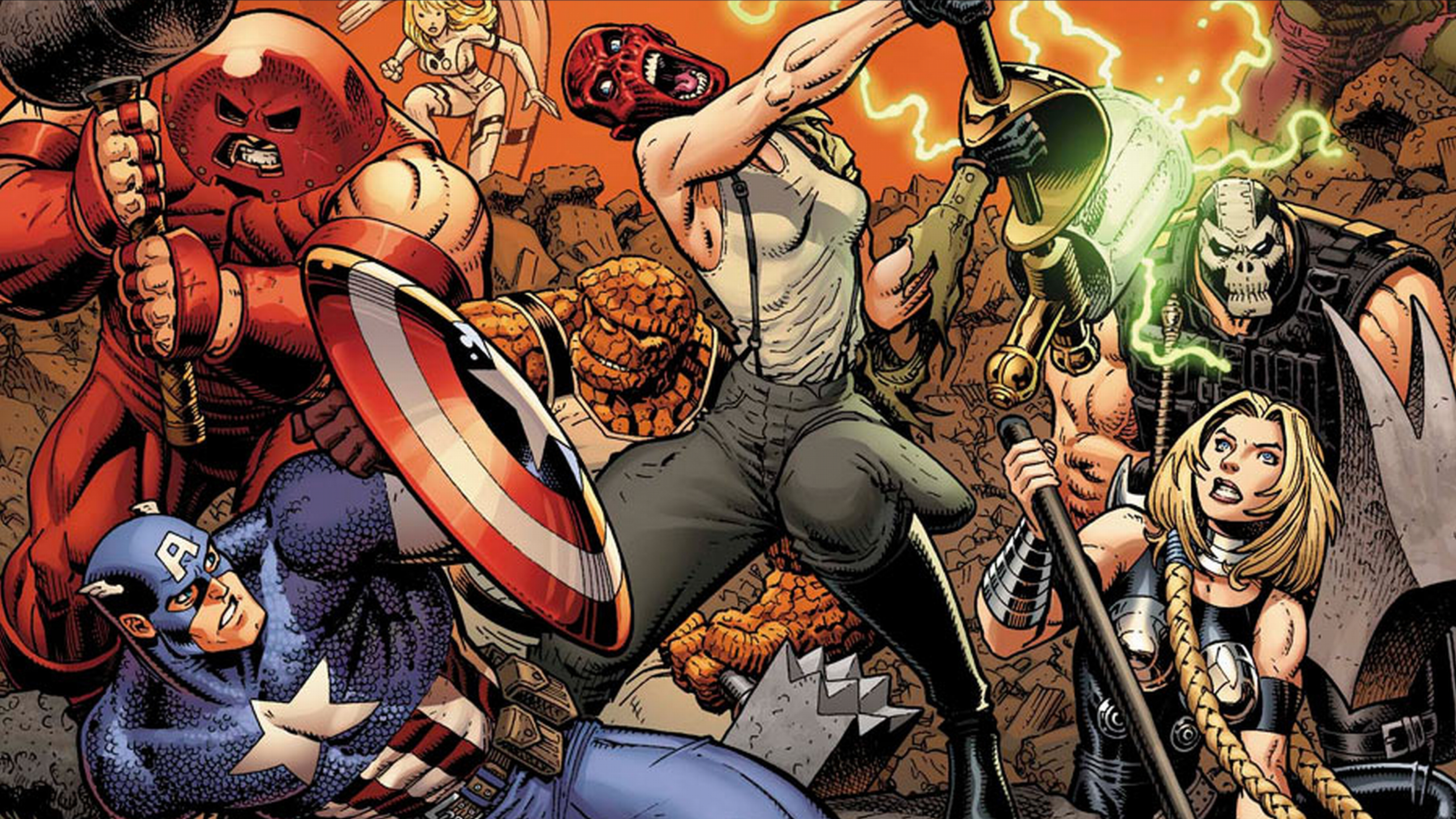 23 Juggernaut Marvel Comics Hd Wallpapers Background Images