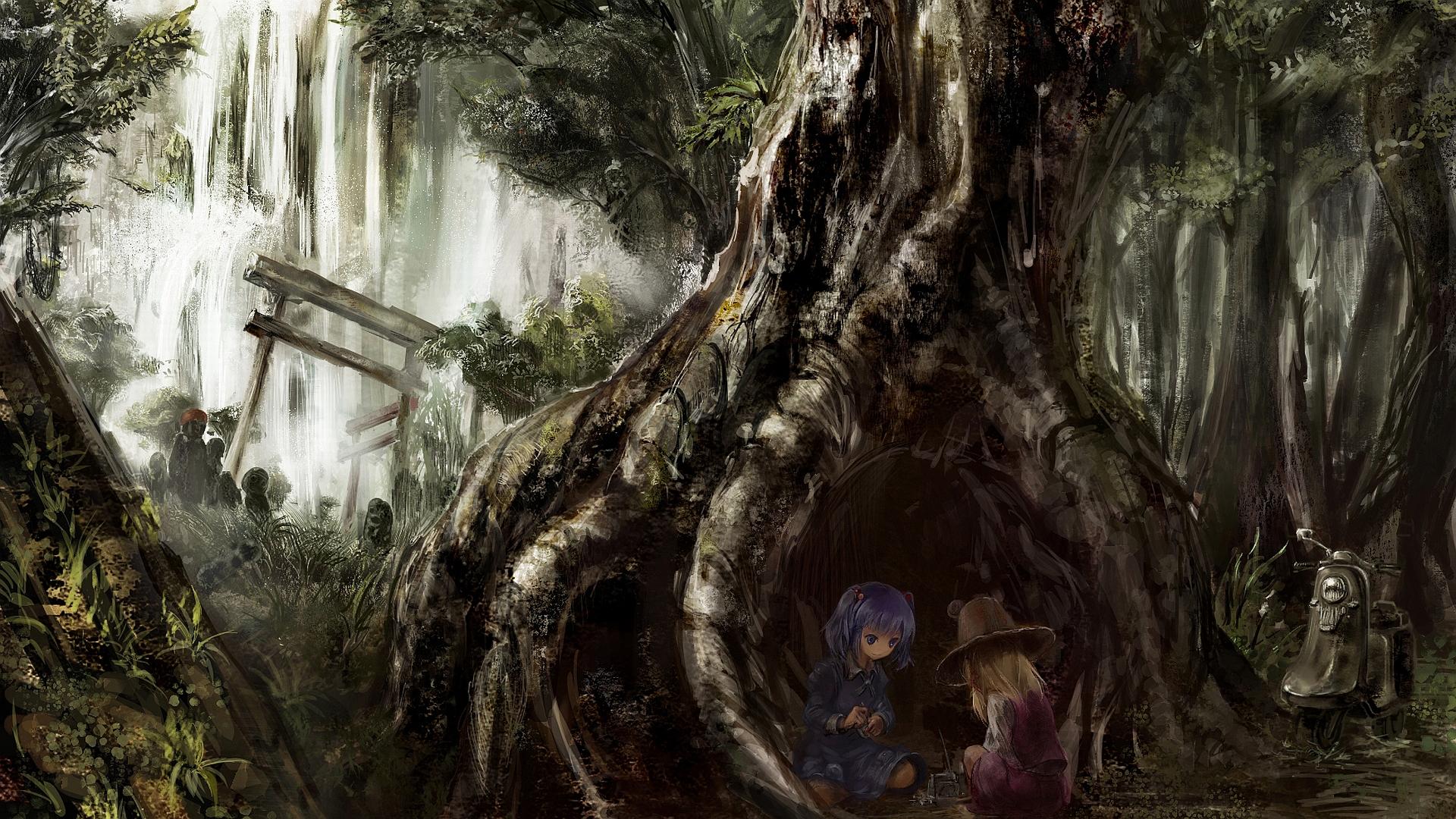 Anime - Touhou  Suwako Moriya Shinki (Touhou) Wallpaper