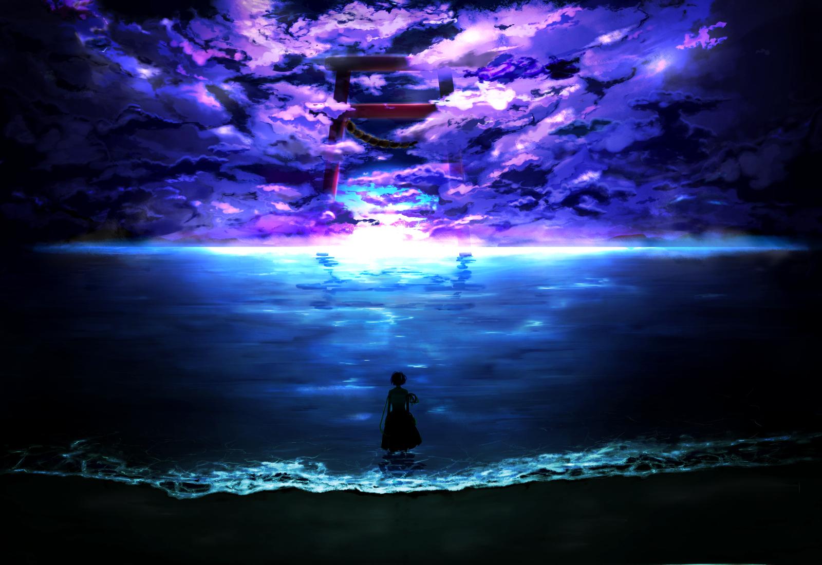 Anime - Touhou  Momiji Oroshi Wallpaper