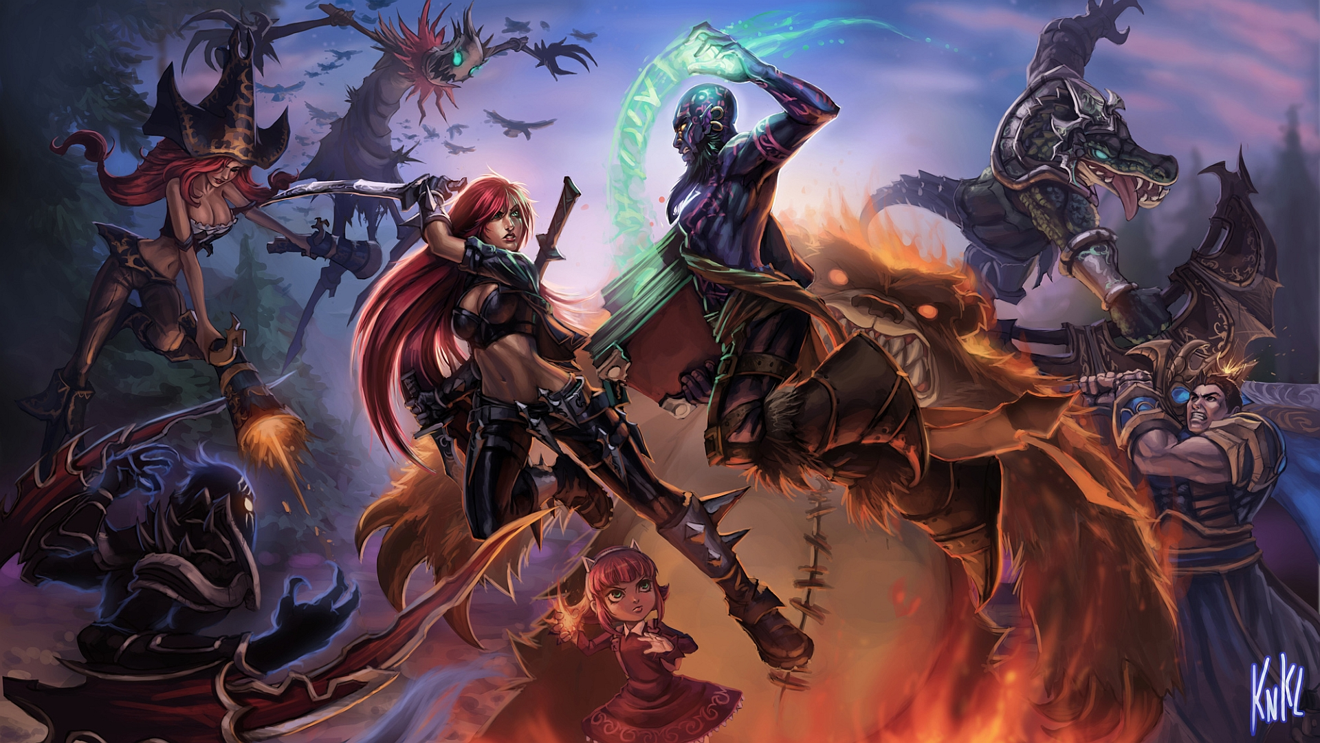 51 Garen (League Of Legends) HD Wallpapers | Background Images - Wallpaper Abyss