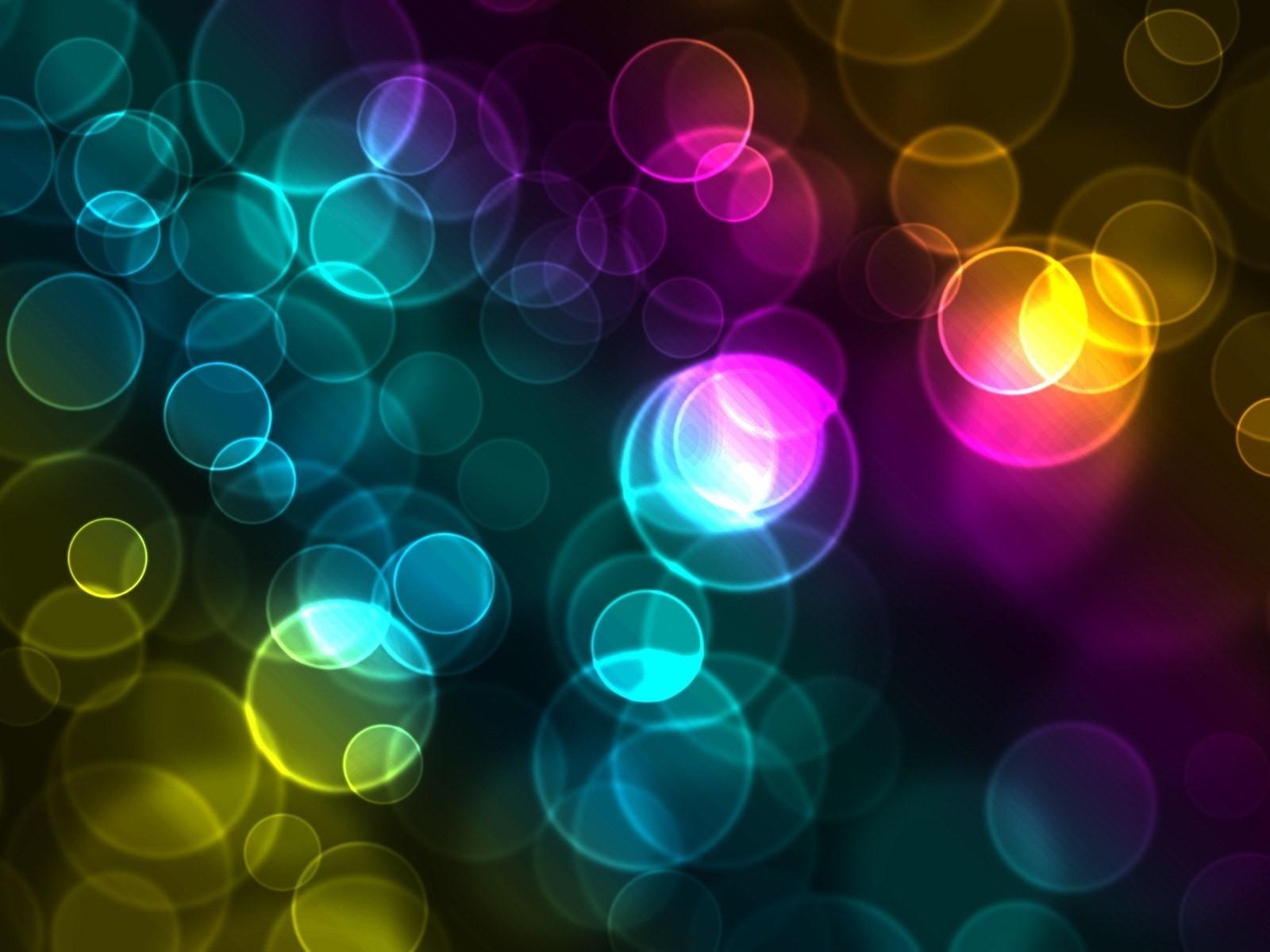 Bubbles Screensaver Black Background: Rainbow Bubbles Computer Wallpapers, Desktop Backgrounds