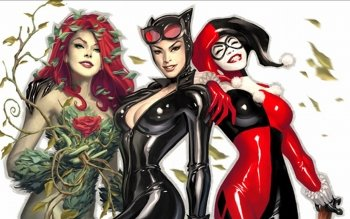 Comics - Gotham City Sirens Wallpapers and Backgrounds ID : 162306
