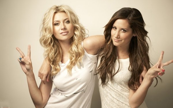 Celebrity Actor Alyson Michalka Ashley Tisdale Actress HD Wallpaper   Background Image