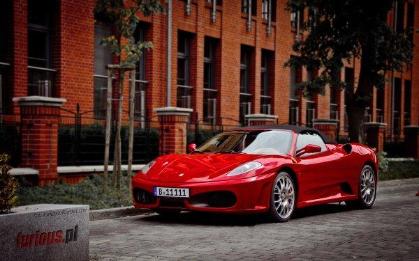 Vehicles Ferrari F430 Ferrari Car Sport Red Car HD Wallpaper | Background Image