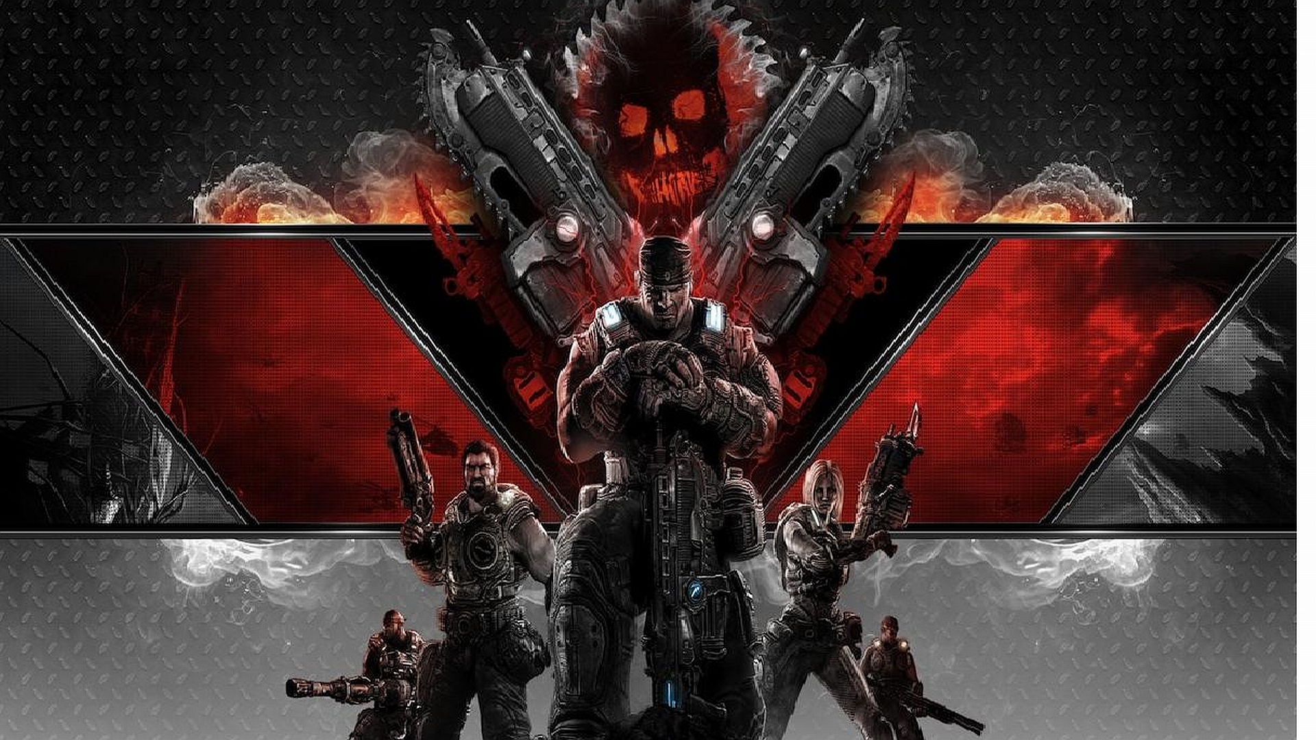Gears Of War 3 Wallpapers: Gears Of War 3 HD Wallpaper