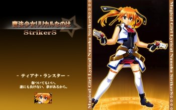 Anime - Magical Girl Lyrical Nanoha Strikers Wallpapers and Backgrounds ID : 164816