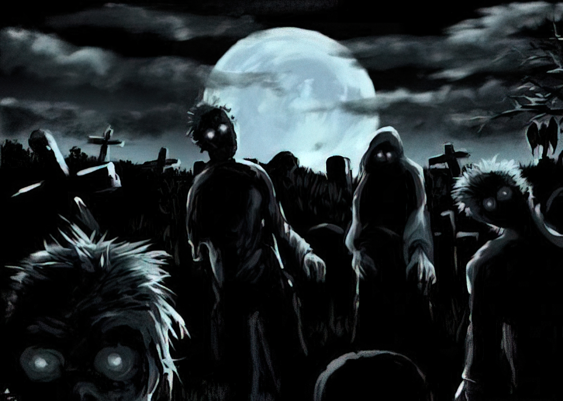 Dark - Zombie  Wallpaper