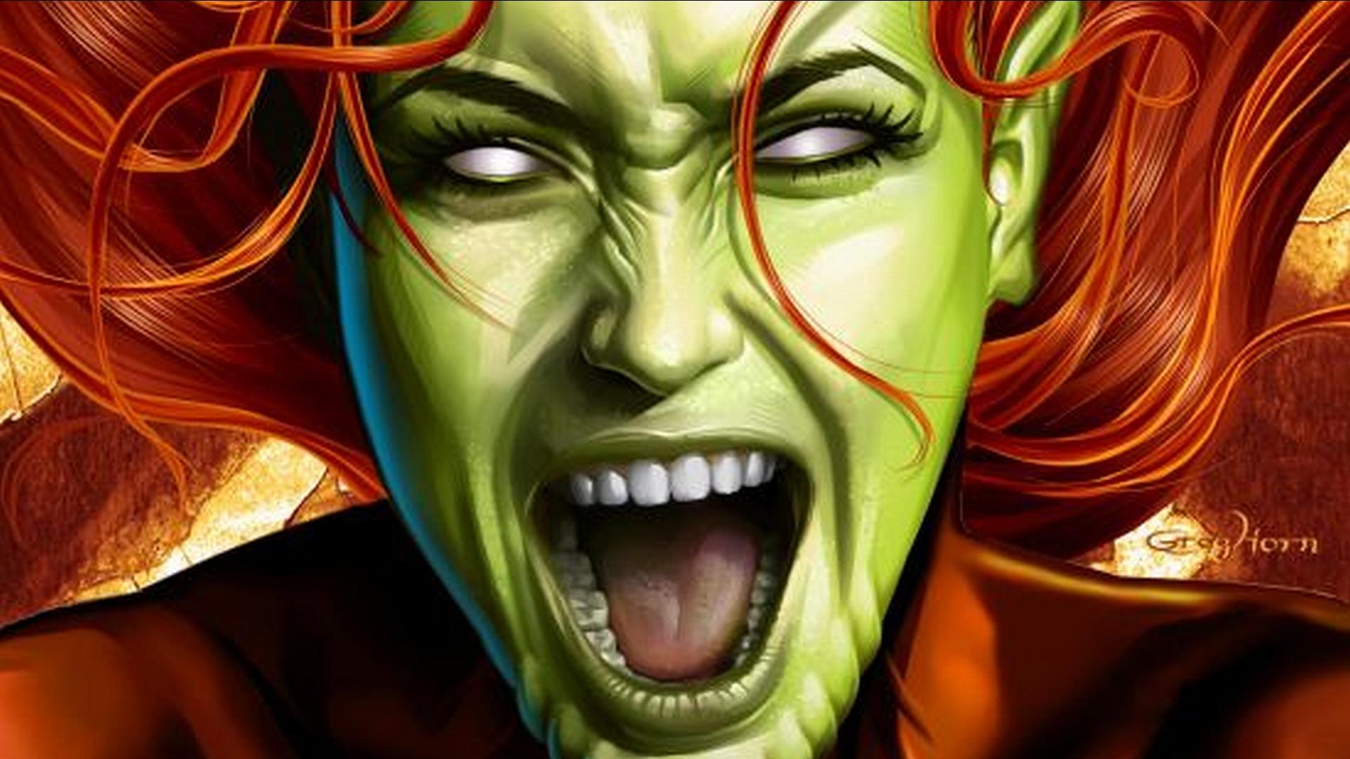 red she hulk wallpaper