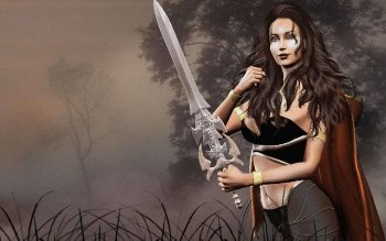 Fantasy - Women Warrior Wallpapers and Backgrounds ID : 166268