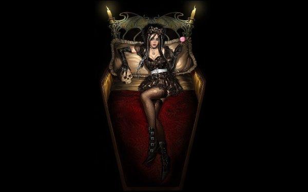 Dark Women HD Wallpaper   Background Image