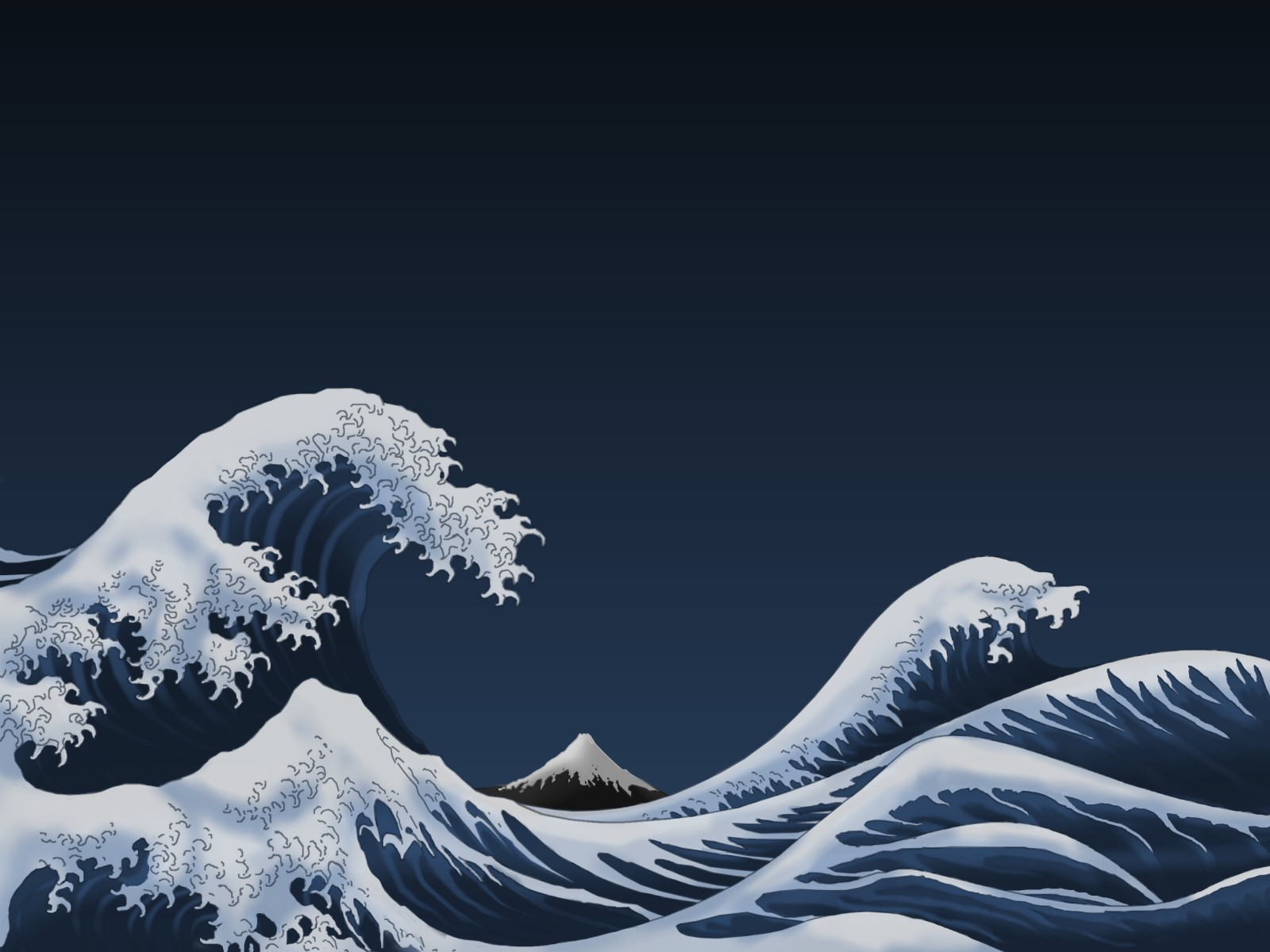 The Great Wave Off Kanagawa Wallpaper And Background Image