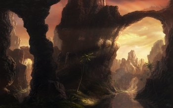 Fantasy - Landskap Wallpapers and Backgrounds ID : 167728