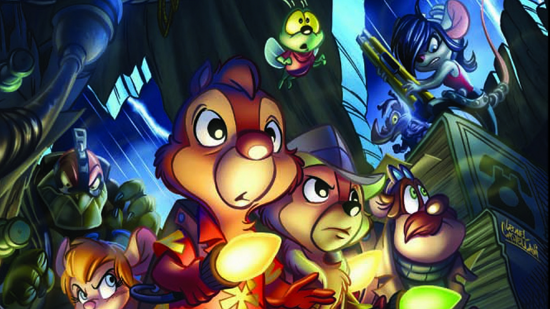 Rescue rangers full hd wallpaper and background image - Chip n dale wallpapers free download ...