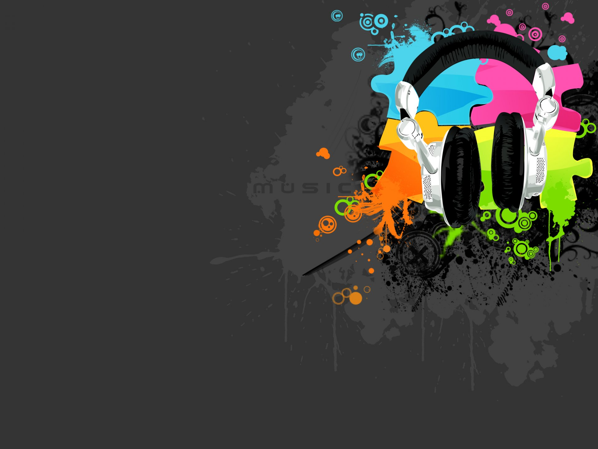 Pattern - Other  Headphones Style Design Music Wallpaper