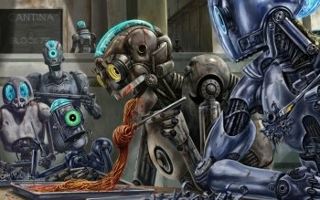 Science-Fiction - Roboter Wallpapers and Backgrounds ID : 170986