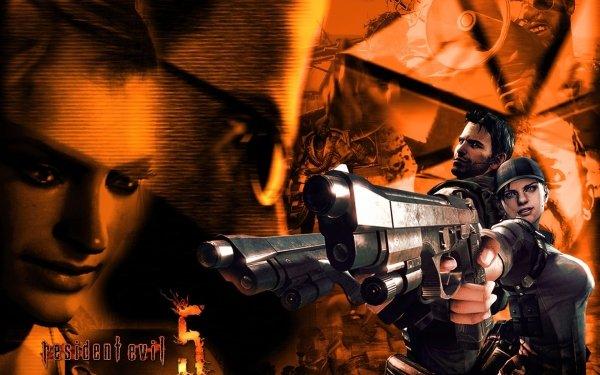 Video Game Resident Evil 5 Resident Evil Chris Redfield Jill Valentine HD Wallpaper | Background Image