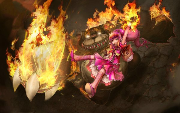 Video Game League Of Legends Annie Tibbers HD Wallpaper | Background Image