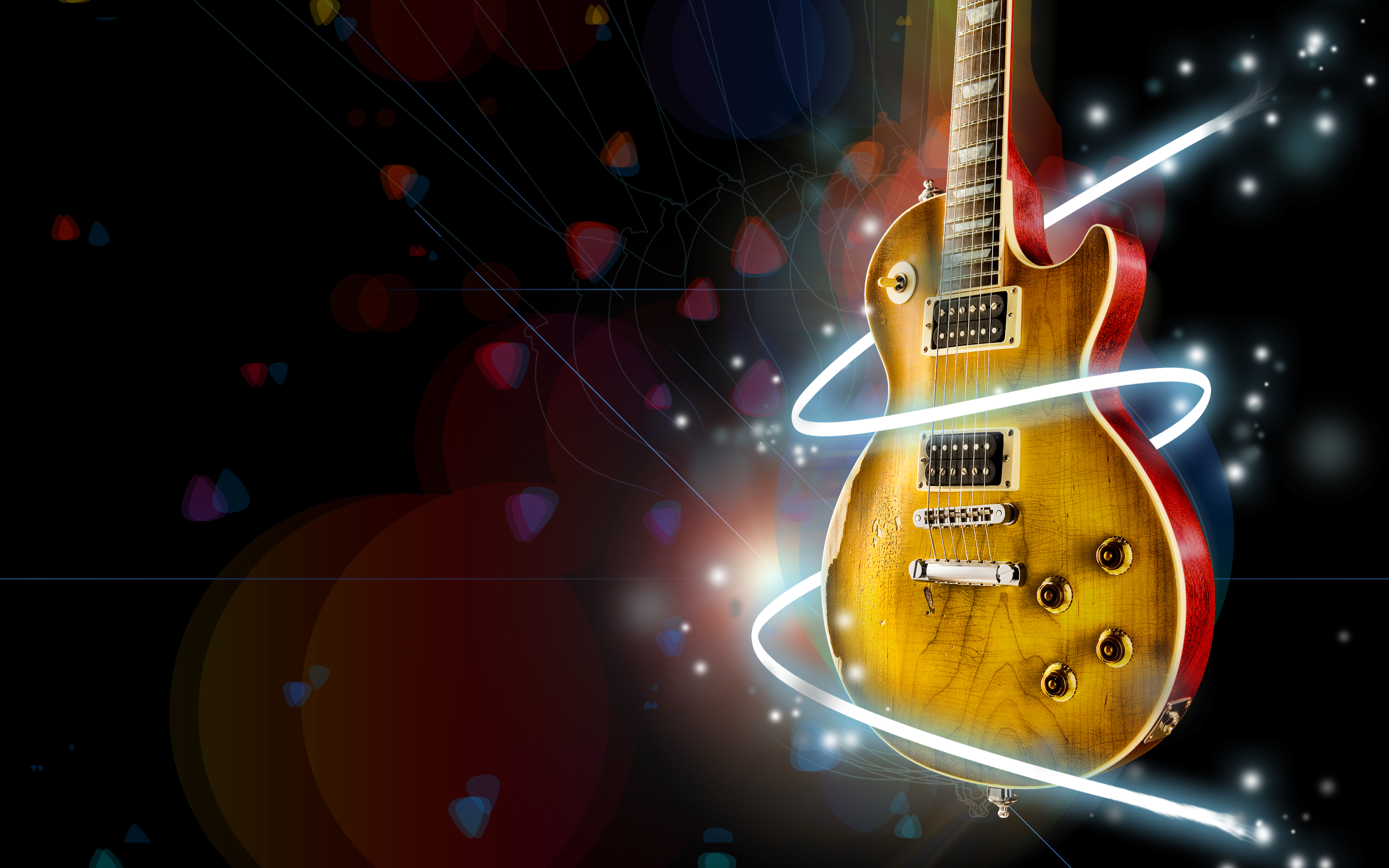 Guitar hd wallpaper background image 2880x1800 id - Music hd wallpapers free download ...