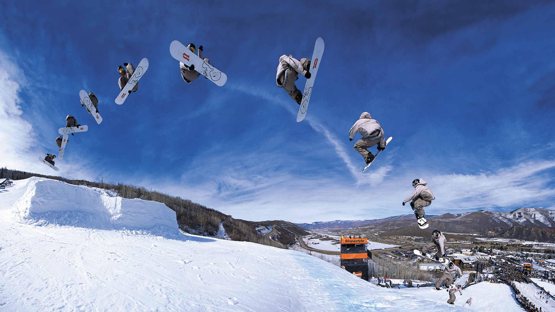 Sports - Snowboarding  Wallpaper