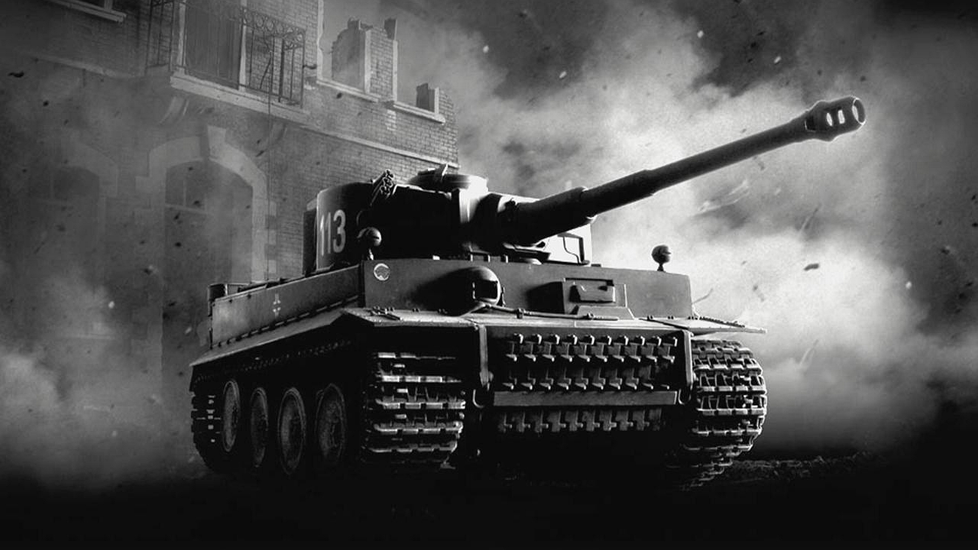 Tiger Tank Full HD Wallpaper And Background Image