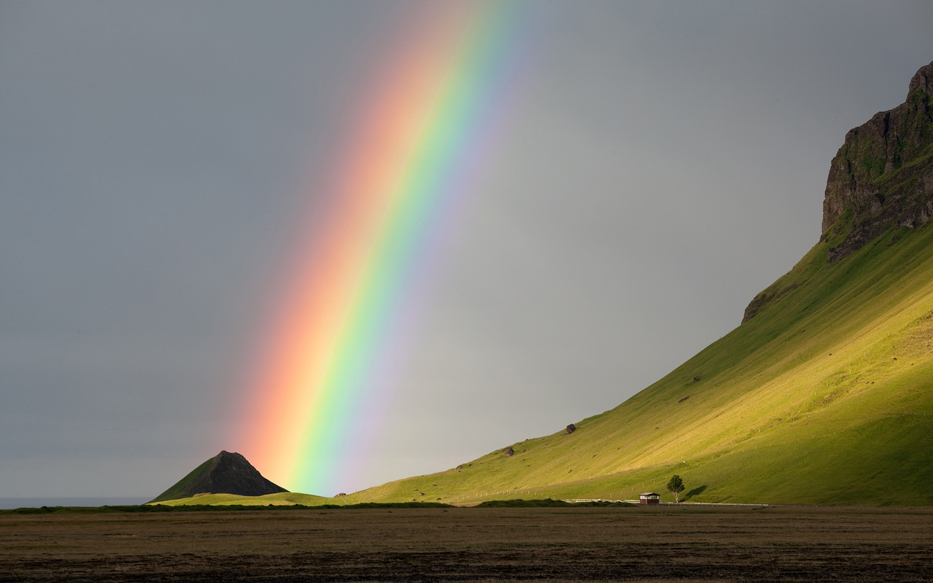 Rainbow full hd wallpaper and background image 1920x1200 id173334 earth rainbow wallpaper download voltagebd Gallery