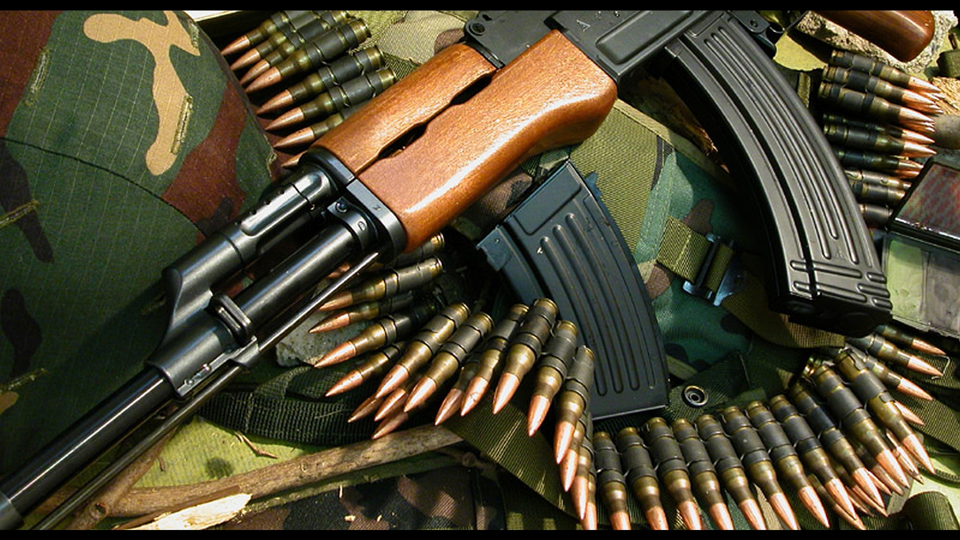 Akm Assault Rifle Full HD Wallpaper And Background Image