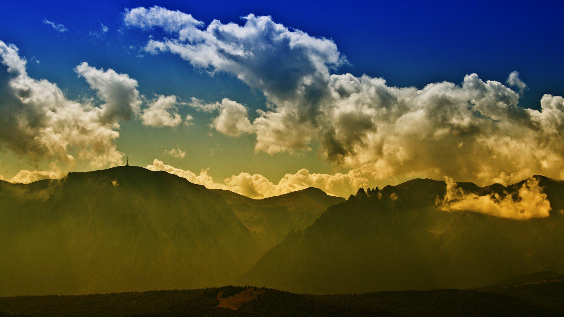 облака над горами без смс