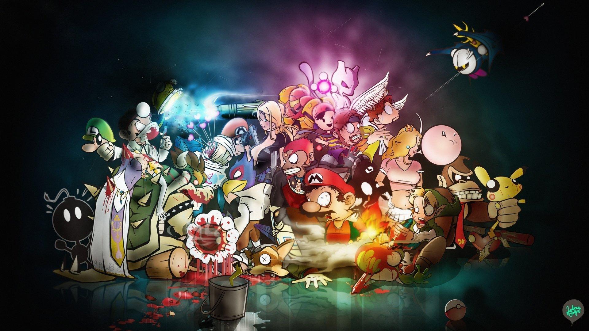 Super Smash Bros. Fond D'écran HD