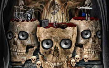 Dark - Skull Wallpapers and Backgrounds ID : 173178