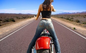 Vehicles - Girls & Motorcycles  Wallpapers and Backgrounds ID : 173294