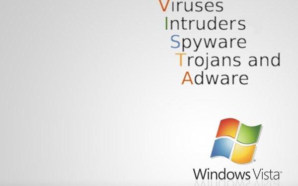 Technology Windows Vista Windows Virus Computer HD Wallpaper | Background Image