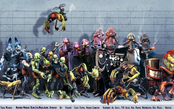 Video Game Oddworld: Abe's Exoddus HD Wallpaper   Background Image