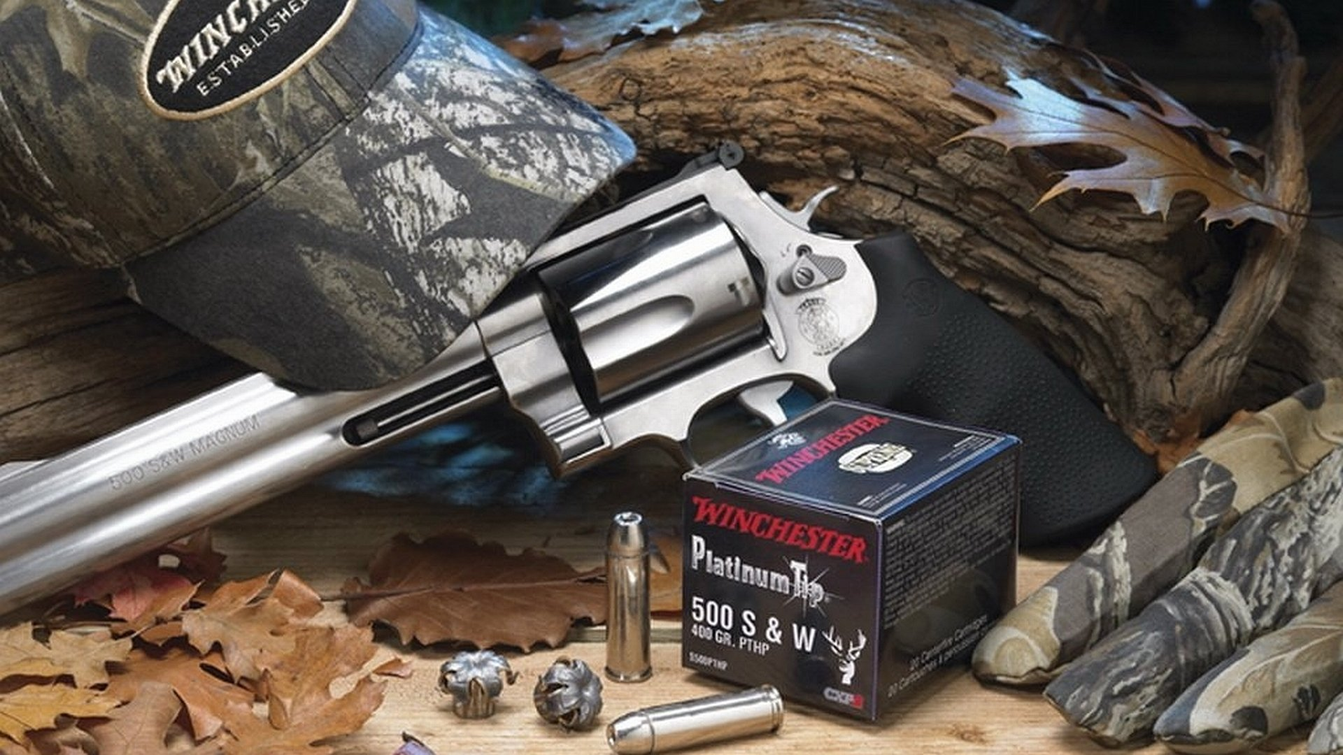Smith & Wesson 500 Magnum Revolver Full HD Wallpaper and ...