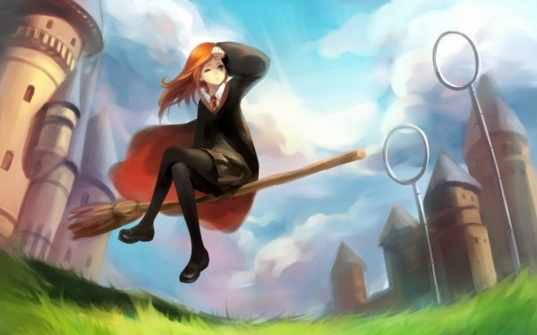 Movie Harry Potter Quidditch Ginny Weasley HD Wallpaper | Background Image