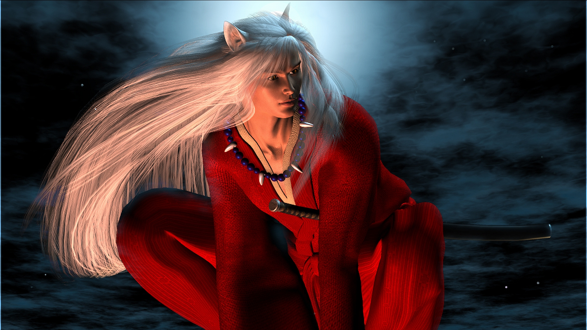 Wallpaper Para Smartphone 3d: InuYasha HD Wallpaper