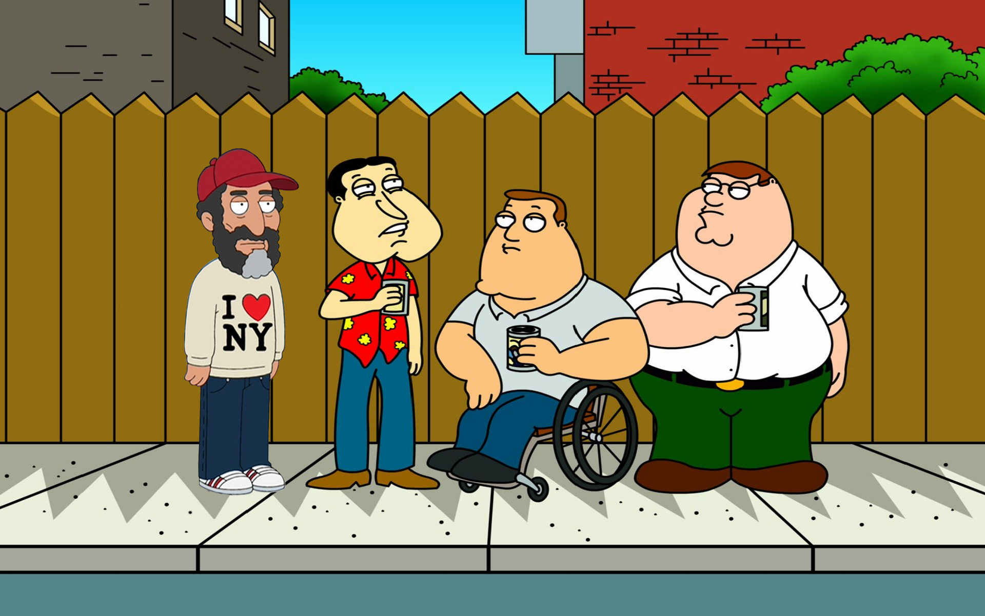 Family Guy HD Wallpaper